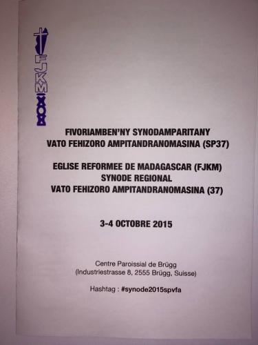 Fihaonambe isankerintaona SP VFA 37- 2015