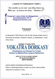 Vokatra Dorkasy 2019