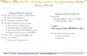 Programme Fitokanana Rennes